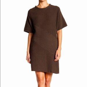 EUC ASTR Green Knit Sweater Dress